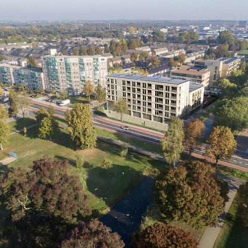 Eindhovenlaan Birdview vierkant